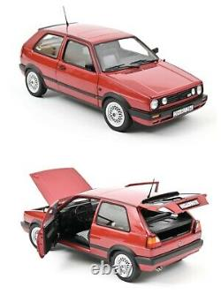 1/18 NOREV VW Volkswagen Golf Gti 1990 Red New Box Free Shipping Home
