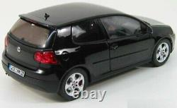 1/18 NOREV Volkswagen Golf Gti Black 2004 New IN Box Free Shipping Home