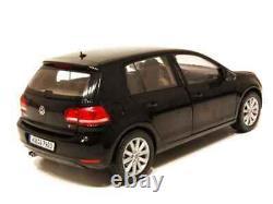 1/18 NOREV Volkswagen Golf VI 5 Doors 2008 Black New Box Free Shipping Home