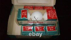 1 DOZEN 1960's CHANDLER HARPER NORTHWESTERN GOLF BALLS NEW OLD STOCK BOX