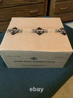 2001 UD Upper Deck Golf Factory New Sealed Case 12 Box Tiger Woods Rookie #1