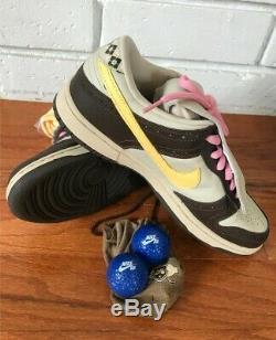2006 Nike Dunk Low Premium SB Golf Brown US 9.5 Brand New in Original Box