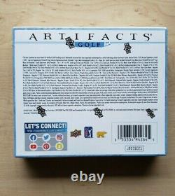 2021 Upper Deck Artifacts Golf Hobby Box Factory Sealed NEW