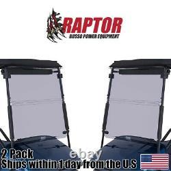 2PK Golf Cart Tinted Windshield 1994-2014 New In Box Fits EZGO TXT & Medalist