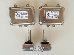 2x New OEM VW Golf Jetta HID Xenon Headlight Ballast & Osram D1S Bulb