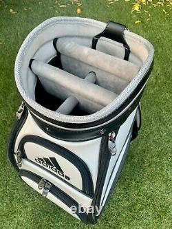 Adidas Golf Staff Bag 9.5 top with 5-Way Dividers NEW IN BOX