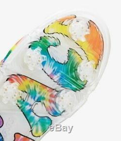 Air Jordan 5 Low G Men's Golf Shoes Tie Dye Peace Love Size 9 In Hand NEW in Box