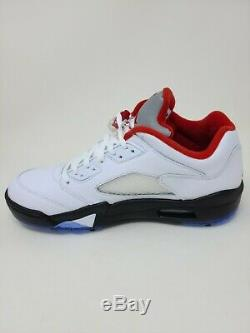 Air Jordan 5 Low Golf Fire Red Deadstock New In Box Mens Size 13
