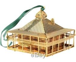 Augusta National Golf Club Clubhouse 3D Christmas Ornament NEW in box Masters