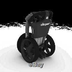 BRAND NEW IN BOX Clicgear 3.5+ Golf Push Cart Orange FREE SHIPPING LAST ONE