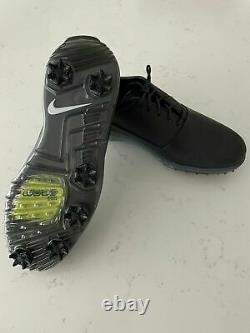 BRAND NEW WITH BOX Nike Mens Air Zoom Victory Tour Golf Shoes 11.5 Black Chrome