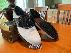 BRAND NEW with box Vintage Footjoy Classics Dry Premiere Mens Golf Shoes 12-C