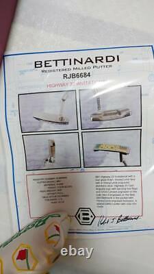 Bettinardi Registereo Milled DASS Putter Limited New In Box Golf Pyg622