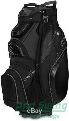 Brand New Callaway 2019 Org 15 Black Golf Cart Bag New Open Box