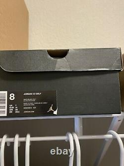 Brand New In Box Jordan XI 11 Concord Golf Shoes Size 8 White Black