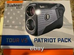 Bushnell Golf Tour V5 Patriot Pack Rangefinder Brand New In The Box