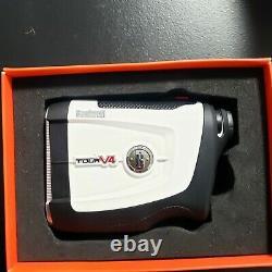 Bushnell Tour V4 Patriot Pack Golf Laser Rangefinder NEW open box