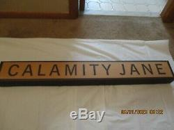 Calamity Jane Replica Putter By Cleveland Golf In Commemorative Box New Other