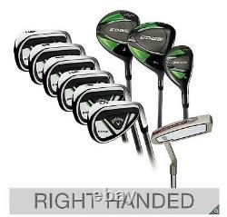 Callaway Edge 10 Piece Golf Set Graphite Shafts / Brand New in Box