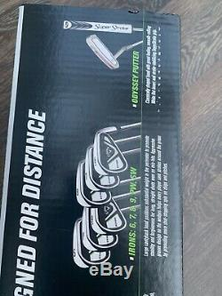 Callaway Edge Mens 10 Piece Golf Set Right Handed BRAND NEW Sealed Box