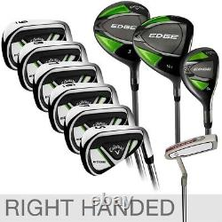 Callaway Edge New in Box 10-Piece Golf Club Set, Regular Flex, Right Handed