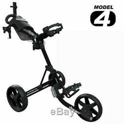 Clicgear Model 4.0 Golf Push Cart BLACK BRAND NEW IN ORIGINAL BOX