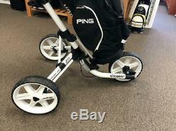 Clicgear USA Model 4.0 CGC400 White Push/Pull Golf Cart 2020 NEW IN BOX