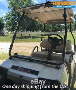Club Car DS Clear Windshield'00.5 and up New In Box Golf Cart Folding Acrylic