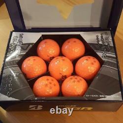 DRAGON BALL Z Golf Ball BRIDGESTONE TOUR B JGR Orange Color 1 Box (7Balls) NEW