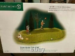 Department 56 Animated Perfect Putt Golf Game 52508 Rare New in Box