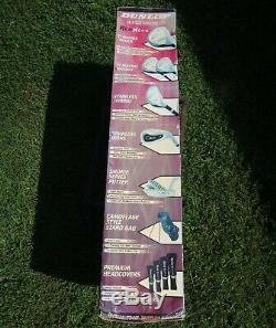 Dunlop REDNECK 18 Piece Golf Club set NEW in Box 2006 NOS Woods Irons Putter and