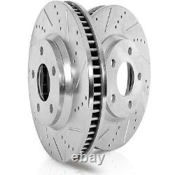 EBR1498XPR Powerstop 2-Wheel Set Brake Discs Rear Driver & Passenger Side New