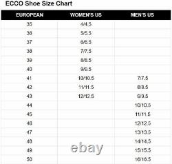 ECCO Biom H4 Spikeless Men's Golf Shoes Size 42 White US 8 New in Box #86012
