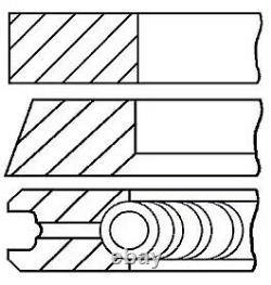 Engine Piston Ring Set Goetze Engine 08-114907-00 4pcs I 0.5mm For Vw Golf IV