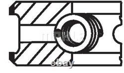 Engine Piston Ring Set Mahle Original 028 22 N0 4pcs I For Vw Polo, Caddy III