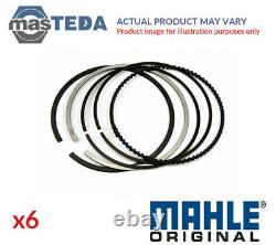Engine Piston Ring Set Mahle Original 029 55 N0 6pcs I Std For Vw Lt 28-35 I