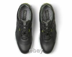 Footjoy Pro Sl Mens Golf Shoes Black/lime Size 8 Medium 53813. New In Box