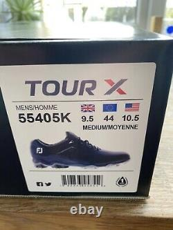Footjoy Tour X Golf Shoes. Brand New In Box Size 9.5 Medium Fit