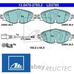 Front Brake Pads Set VW Seat Audi SkodaA3, GOLF VII 7, OCTAVIA III 3, PASSAT