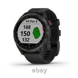 Garmin Approach S42 Golf GPS Watch Black New In Box
