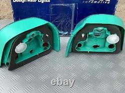 Green Lucid FK VW GOLF MK3 GTI 16V VR6 Cabrio MK4 Rear Tail Lights NEW With Box
