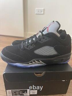 Jordan 5 V Low Golf Metallic 2020 Size 13 New In Box Nike