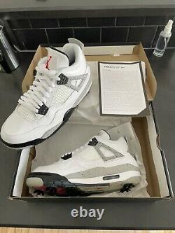 Jordan IV 4 Golf Cement Size 7.5 New In Box In Hand
