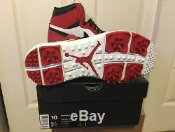 Jordan Retro 1 Chicago Golf Cleats Mens. Sz 10. Brand New In Box. 917717-100