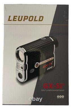 Leupold Gx-5i3 Golf Rangefinder Black/chrome Brand New In Box