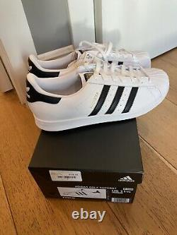 Limited Adidas Superstar Golf Shoes Size 11.5 Brand New Withbox