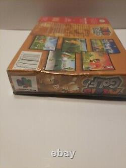 Mario Golf (Nintendo 64) Box Manual CIB Complete N64 NEW Still Sealed