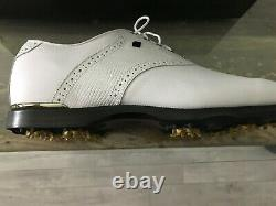 Men's FOOTJOY ICON GOLF SHOES 10.5 BRAND NEW WHITE IN BOX