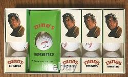 NEW Box of 13 Dino's Brand Golf Balls Dean Martin Pro-Tel Products LA California