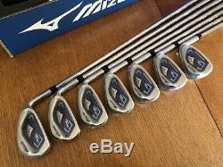 NEW IN BOX Mizuno JPX 850 Golf Club Iron Set 4-PW KBS TOUR Steel Stiff 1 Deg. Up